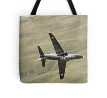 RAF Hawk T1a knife edge and pulling vapour Tote Bag