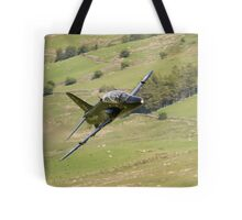 Hawk T1a XX195 approaching CAD West Tote Bag