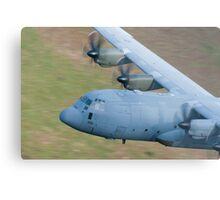 RAF C130 Hercules Low Flying Metal Print