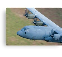 RAF C130 Hercules Low Flying Canvas Print