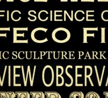 Seattle Washington Famous Landmarks Sticker