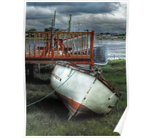 Waiting for the Tide - Skippool Creek Poster