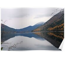 Sullivan Lake, Washington Poster