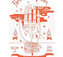 Fortune teller 24h open by Paola Vecchi