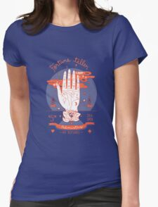 Fortune teller 24h open Womens Fitted T-Shirt