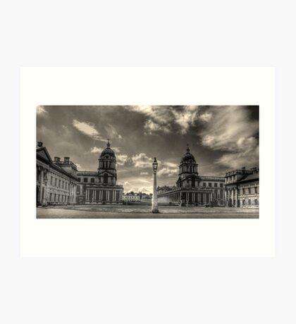 Old Royal Naval College - Greenwich Art Print
