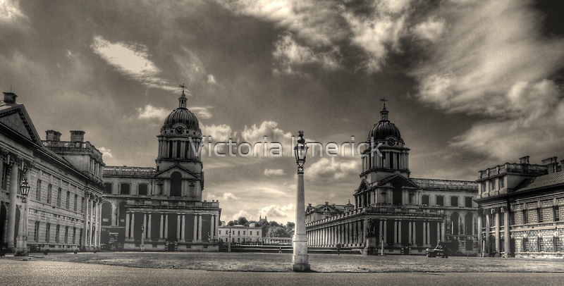 Old Royal Naval College - Greenwich by Victoria limerick