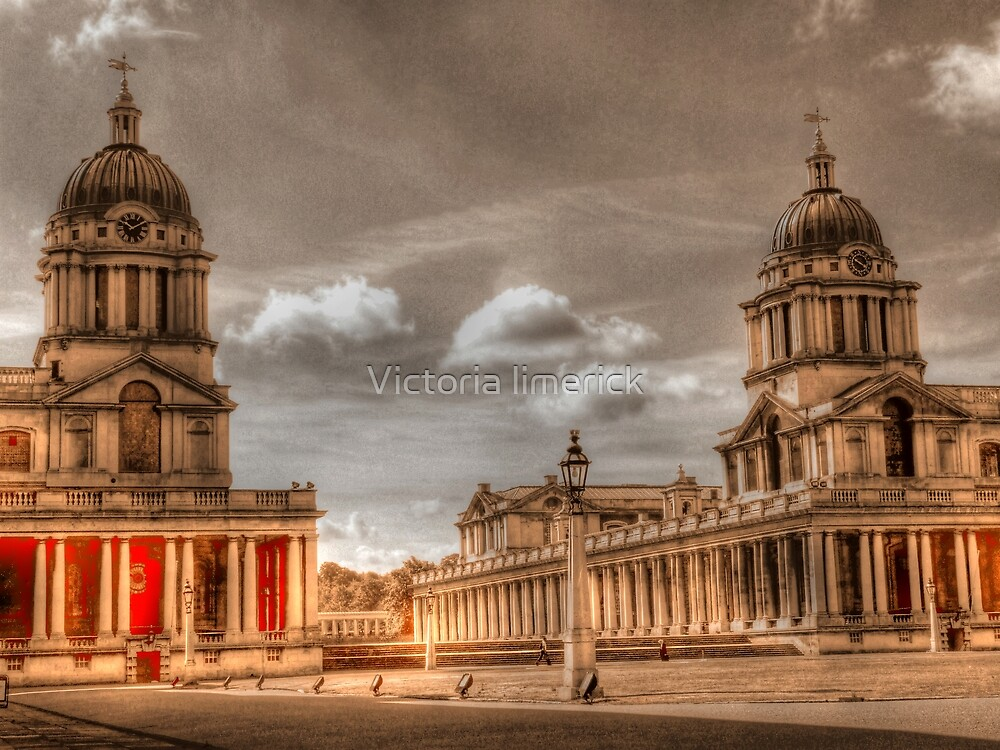 Sepia Old Royal Naval College - Greenwich by Victoria limerick