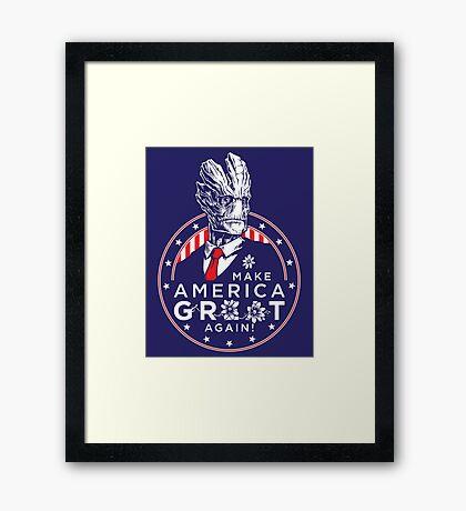 I Am President! Framed Print