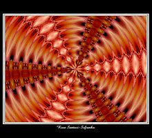 Lilies Kaleidoscope #2 by Rose Santuci-Sofranko