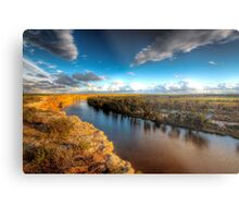 The Mighty Murray - The River Murray, South Australia Metal Print