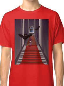 Gothic Stairs and Witch Classic T-Shirt