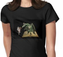 The dragon and the fae Womens Fitted T-Shirt