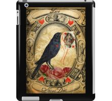 Love Never Dies iPad Case/Skin