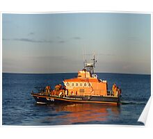 RNLI Lifeboat Poster