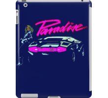 80s Lamborghini T-shirt iPad Case/Skin