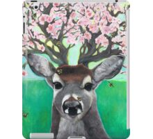 Apple Blossom Deer; Hooves with da Fur iPad Case/Skin