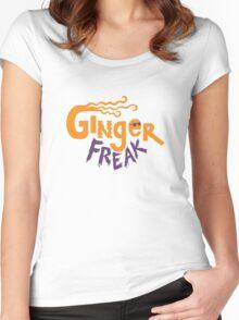 Ginger Freak Women's Fitted Scoop T-Shirt