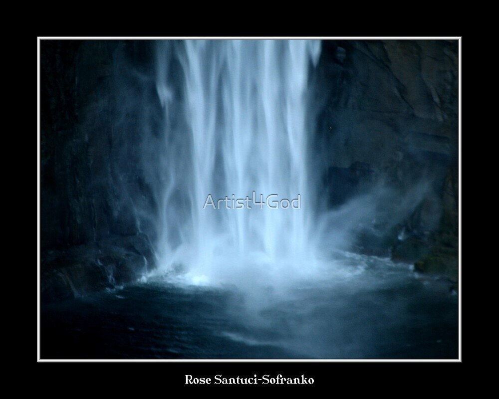 Taughannock Falls (Close Up) by Rose Santuci-Sofranko