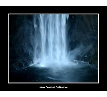 Taughannock Falls (Close Up) Photographic Print