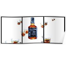 Don't Mix...Jack Daniel's...With Red Wine Poster