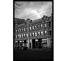 Dead Center of Town #3 Photographic Print