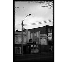 Dead Center of Town #4 Photographic Print