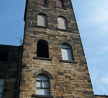 Mill, Burnley, Lancashire by Katy  Fryd