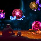 Marbles in space by debra123
