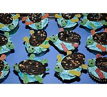 Sea Turtles Cup Cakes Photographic Print