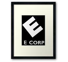 E Corp (Mr.Robot) Framed Print