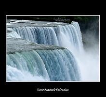 Niagara Falls - American Falls (Close up) by Rose Santuci-Sofranko