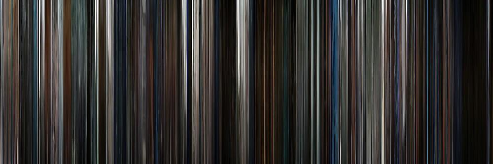 Moviebarcode: The Dark Knight (2008) by moviebarcode