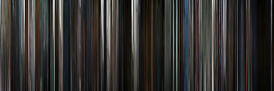 Moviebarcode: The Dark Knight (2008) by moviebarcode