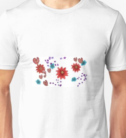 Floral Spray Unisex T-Shirt