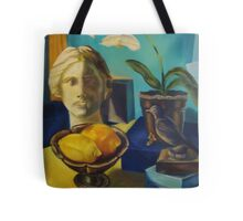 Bathed in Yellow Light Tote Bag