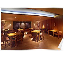 Ozumo Restaurant  •  Interiors Poster