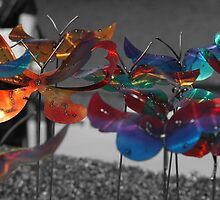 Butterfly Rainbow Garden by Bill Gamblin