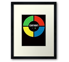 Simon Says T-shirt Framed Print