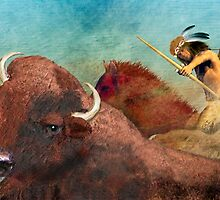 Buffalo Hunter by Carol and Mike Werner