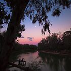 Dusk on the Murray by ImagesbyDi