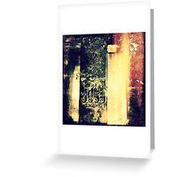 Heaven's Door Greeting Card