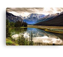 Along the Icefield Parkway, Jasper NP Canvas Print