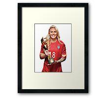 Ashlyn Harris - World Cup Framed Print