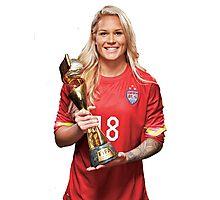 Ashlyn Harris - World Cup Photographic Print