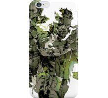 Metal Gear Solid Snake Eater iPhone Case/Skin