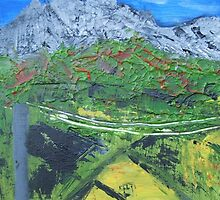 Queenstown Tasmania BrightDay by DeniseKMitchell