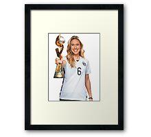 Whitney Engen - World Cup Framed Print