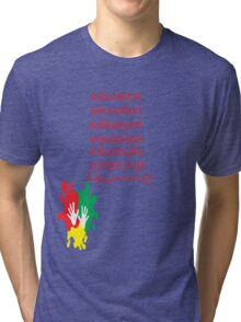 education t-shirt  Tri-blend T-Shirt