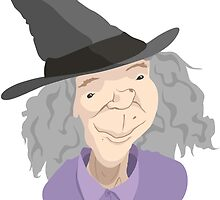 The kindly grandma type witch by RogerA